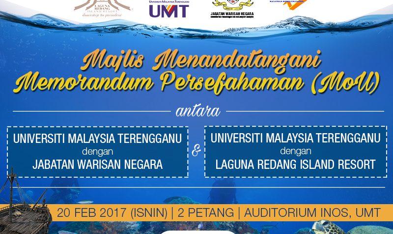 Majlis Menandatangani Memorandum Persefahaman (MoU) @ Auditorium INOS, UMT