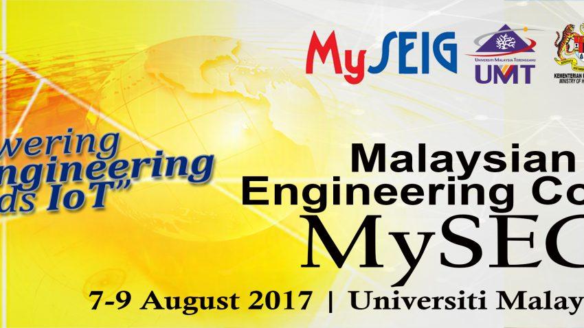 MySEC2017 @ Universiti Malaysia Terengganu | Kuala Terengganu | Terengganu | Malaysia