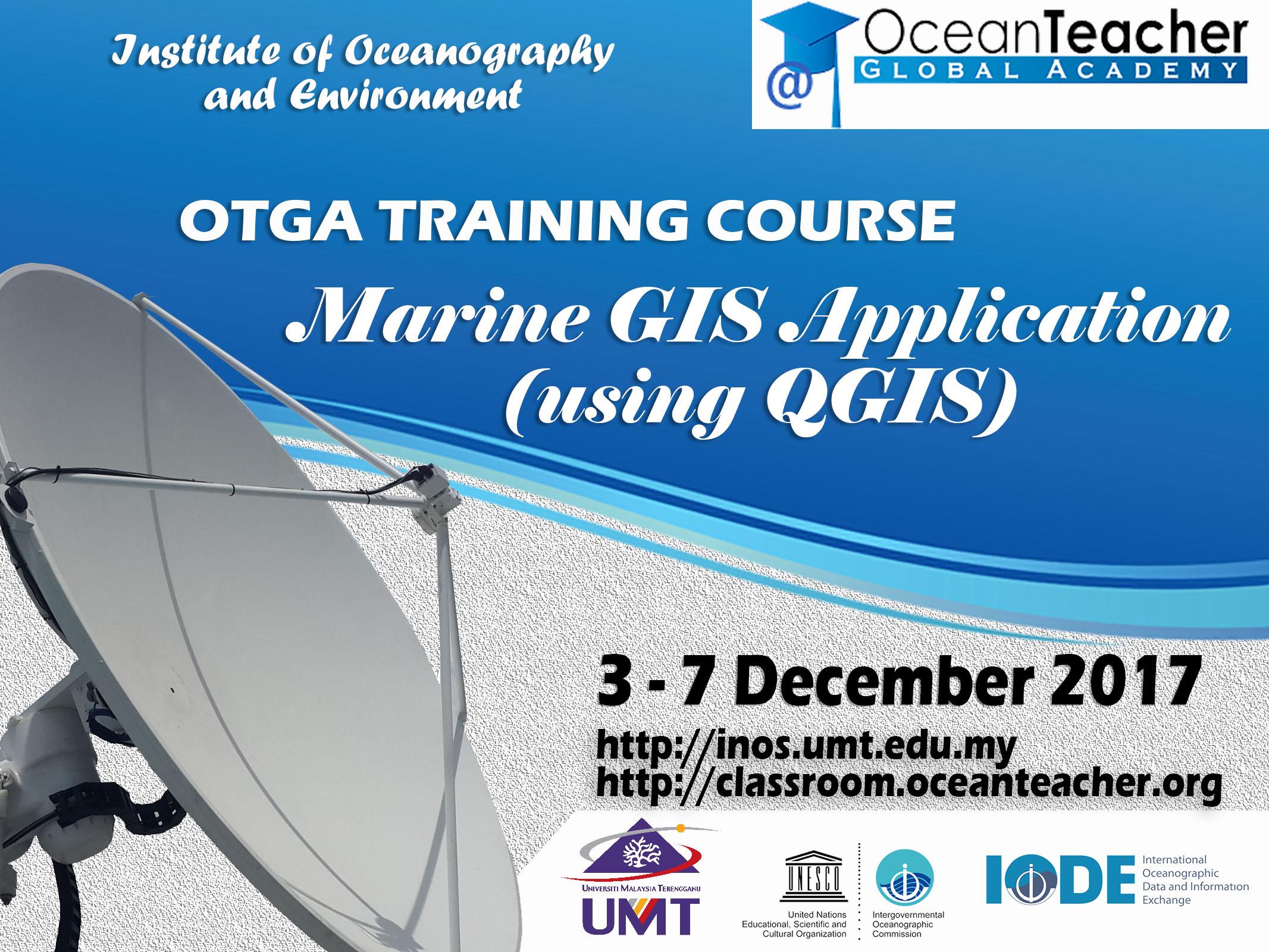 OTGA Training Course: Marine GIS Applications (using QGIS)