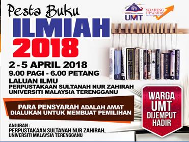 Pesta Buku Ilmiah @ Laluan Ilmu, Perpustakaan Sultanah Nur Zahirah | Kuala Terengganu | Terengganu | Malaysia
