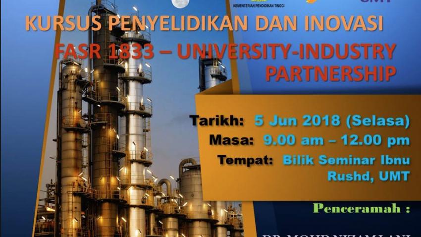 Kursus Penyelidikan dan Inovasi: FASR 1833