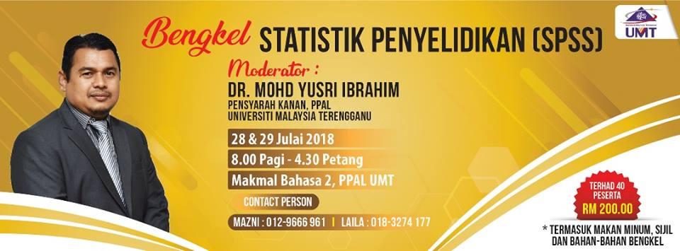 BENGKEL STATISTIK PENYELIDIKAN (SPSS)