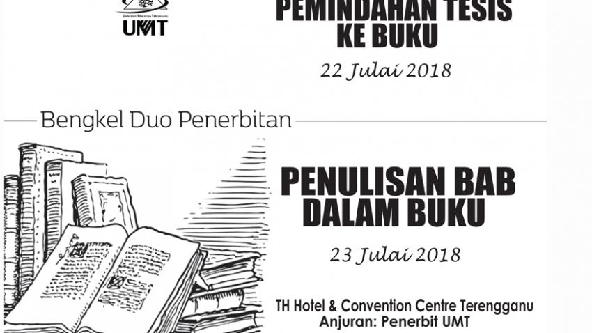 Bengkel Pemindahan Tesis ke Buku @ Dewan Zamrud | Kuala Terengganu | Terengganu | Malaysia
