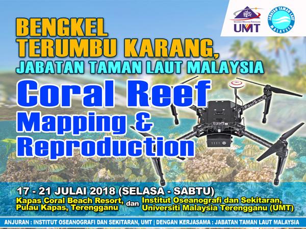 Bengkel Terumbu Karang - Coral Reef Mapping & Reproduction @ Pulau Kapas