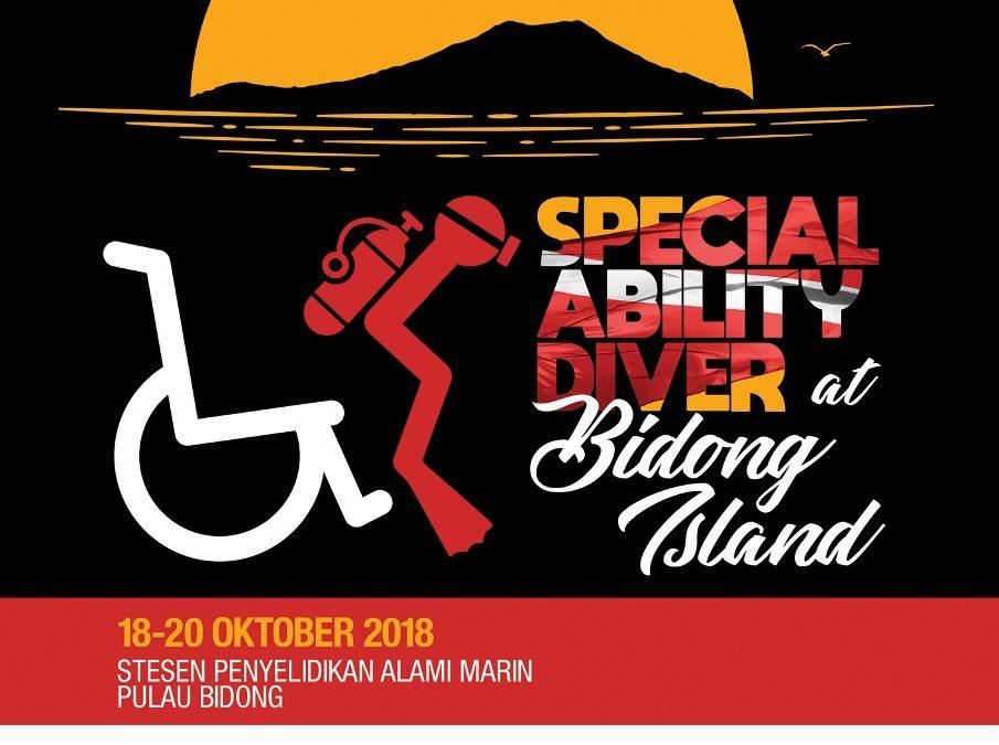 Program Sukarelawan Dive Heart Bersama Belia OKU 2018