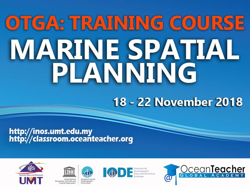 OTGA Training Course: Marine Spatial Training