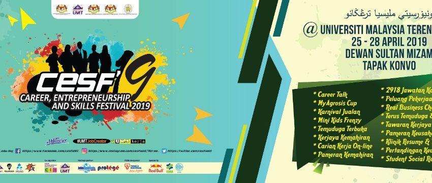 Career, Entrepreneurship And Skills Festival 2019 - CESF' 19 @ Dewan Sultan Mizan & Tapak Konvo