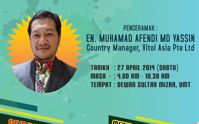 Bicara Inspirasi @ Dewan Sultan Mizan