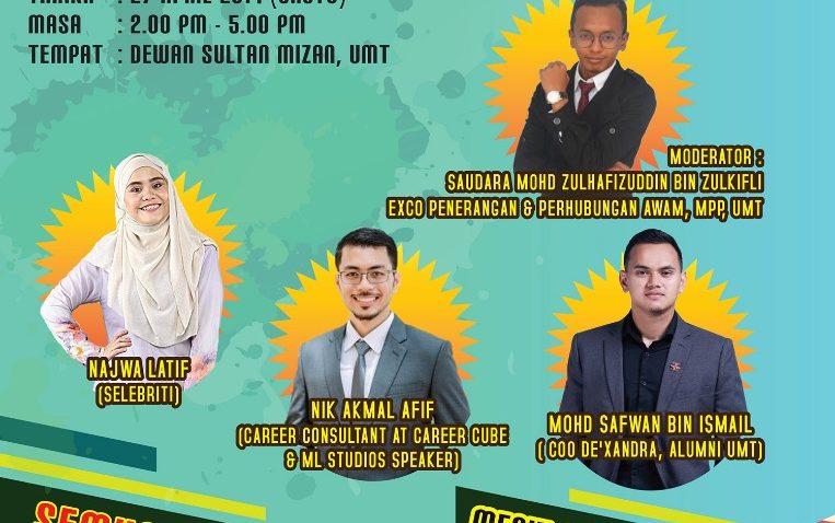 Forum Kerjaya: Pengalaman vs Kelayakan @ Dewan Sultan Mizan