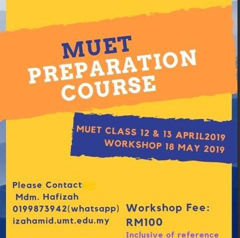 MUET Preparation Course