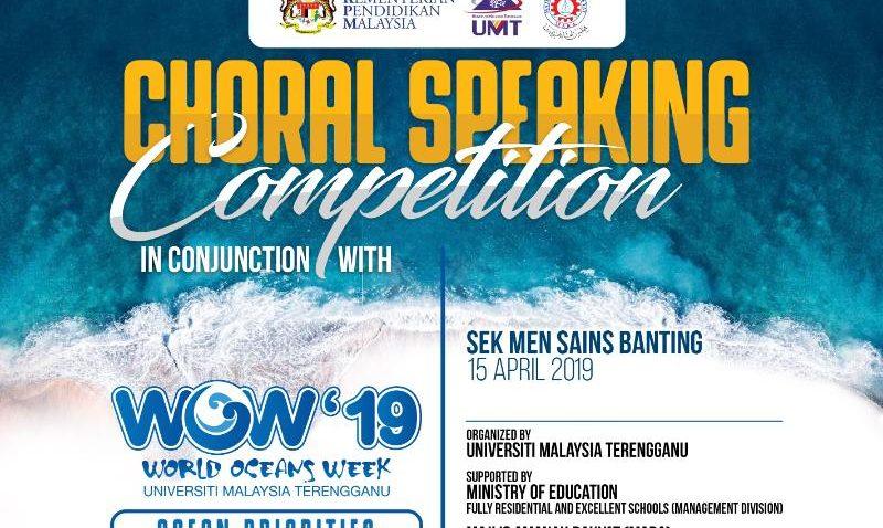 Choral Speaking Competition @ Sek Men Sains Banting