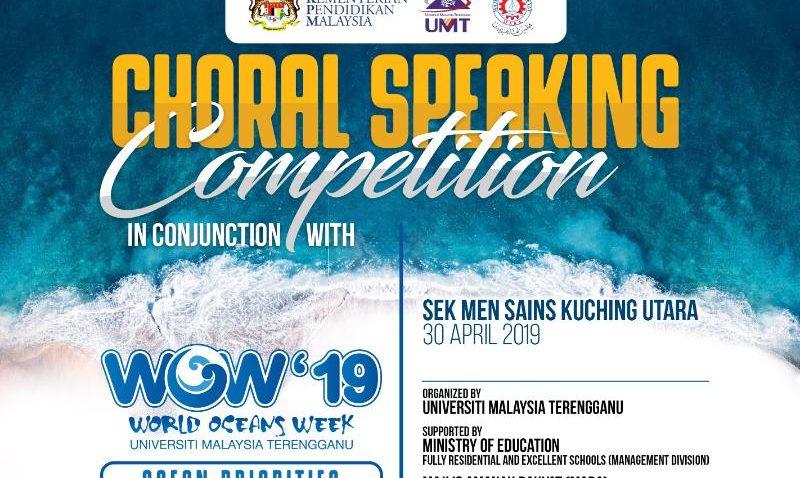 Choral Speaking Competition @ Sek Men Sains Kuching Utara