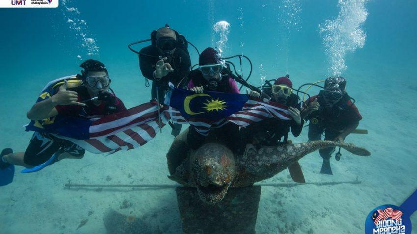 Merdeka Dive @ Stesen Penyelidikan Alami Marin Pulau Bidong
