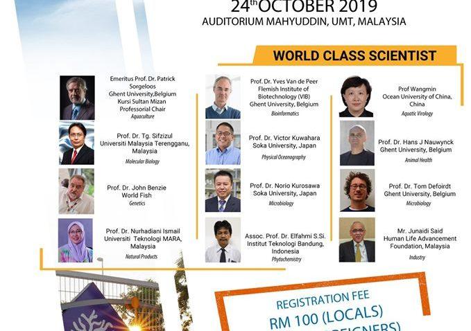 Biotechnology International Seminar 2019 @ Auditorium Mahyuddin