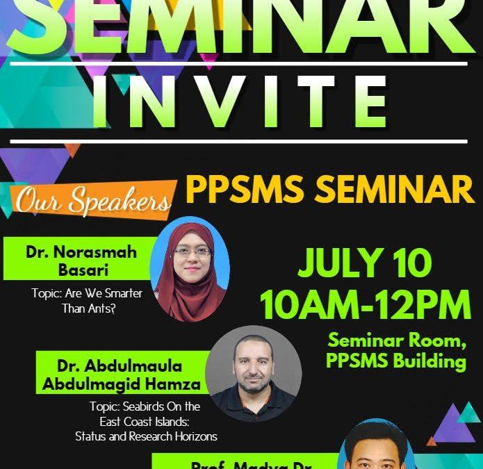 Seminar Bulanan PPSMS 2019