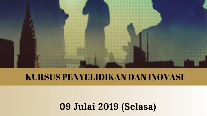 Kursus Penyelidikan Dan Inovasi : FASR 1833 -University-Industry Partnership @ Bilik Seminar Ibnu Khaldun, Bangunan Siswazah, UMT