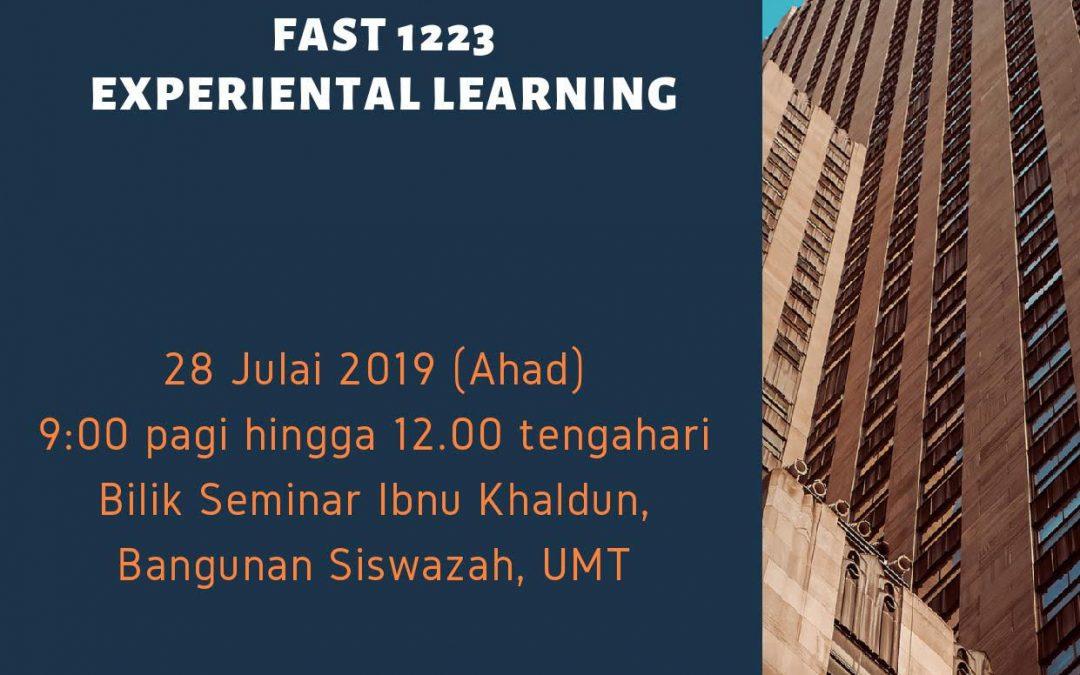 Kursus Pengajaran Dan Pembelajaran : FASR 1223-Experiental Learning