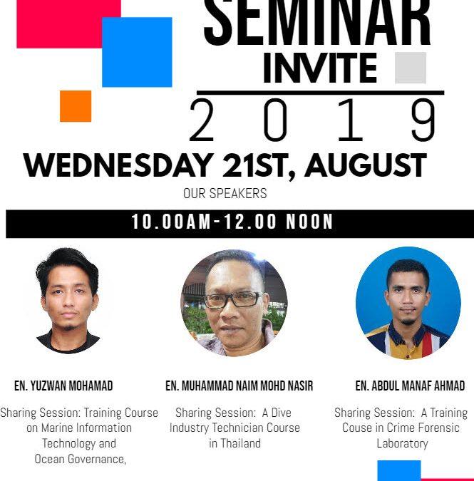 Seminar Bulanan FSME : Siri 1 2019