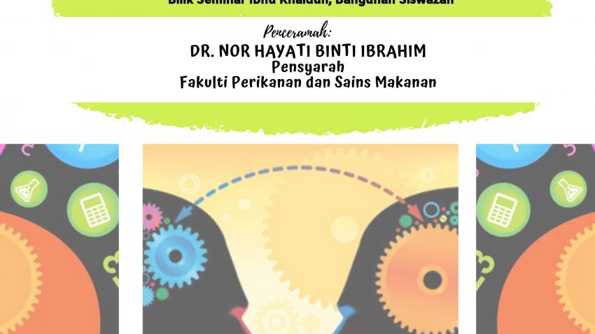 Kursus Pengajaran Dan Pembelajaran : FAST 1426-Assessment Methods For Cognitive Domain @ Bilik Seminar Ibnu Khaldun, Bangunan Siswazah, UMT
