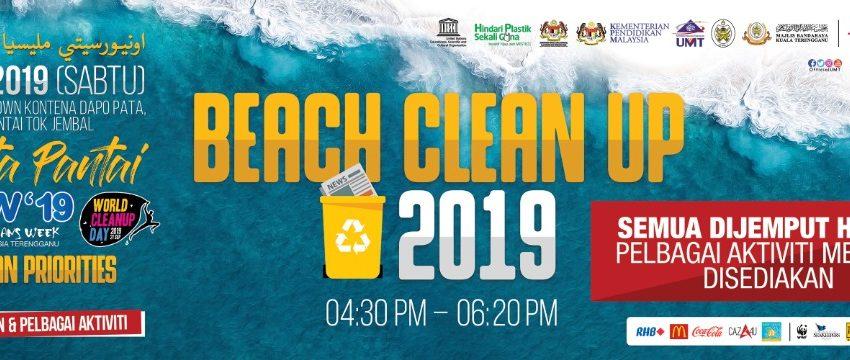Beach Clean Up 2019 @ Pantai Uptown Kontena Dapo Pata, Pantai Tok Jembal