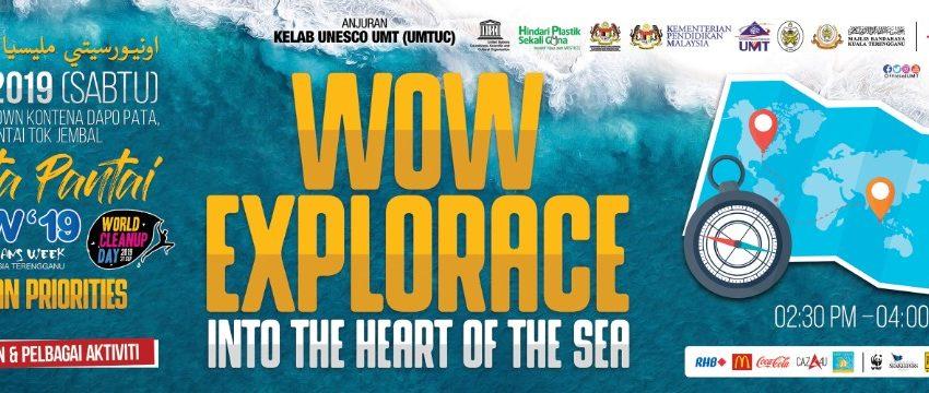 WOW Explorace @ Pantai Uptown Kontena Dapo Pata, Pantai Tok Jembal