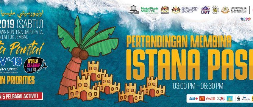 Pertandingan Membina Istana Pasir @ Pantai Uptown Kontena Dapo Pata, Pantai Tok Jembal