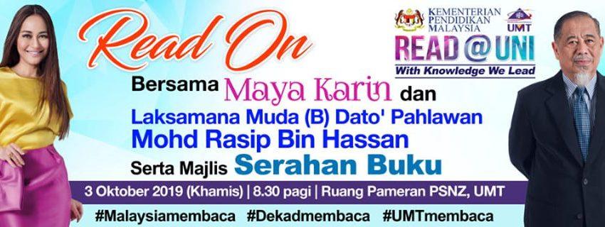 Read@UNI @ Ruang Pameran PSNZ, UMT