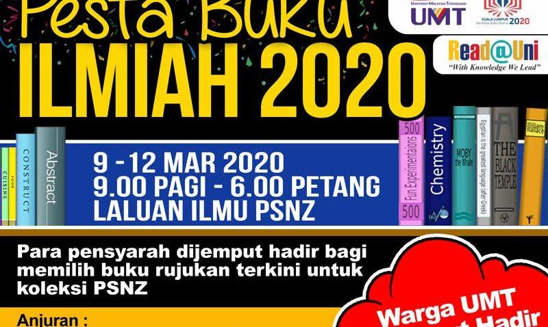 Program Pesta Buku Ilmiah 2020 @ Laluan Ilmu PSNZ UMT