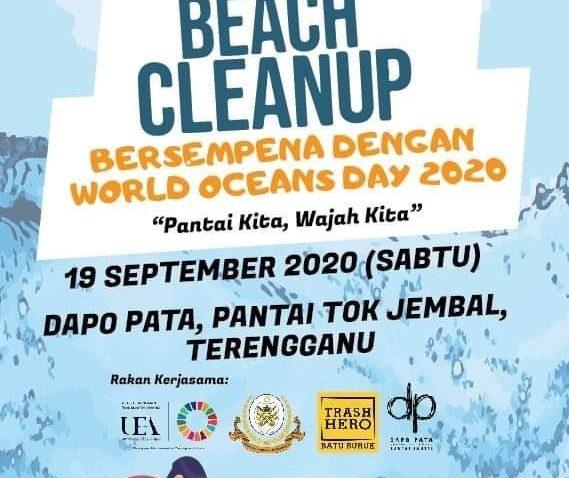 Beach Clean Up 2020 @ Dapo Pata, Pantai Tok Jembal