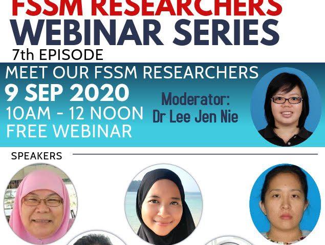Program Sembang Santai : Get To Know FSSM Researchers @ Universiti Malaysia Terengganu