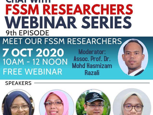 Sembang Santai Bersama Penyelidik FSSM Siri Kesembilan @ Universiti Malaysia Terengganu