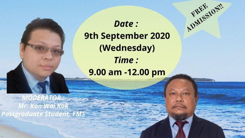 3rd Faculty Of Maritime Studies (FMS) Postgraduate Seminar @ Universiti Malaysia Terengganu