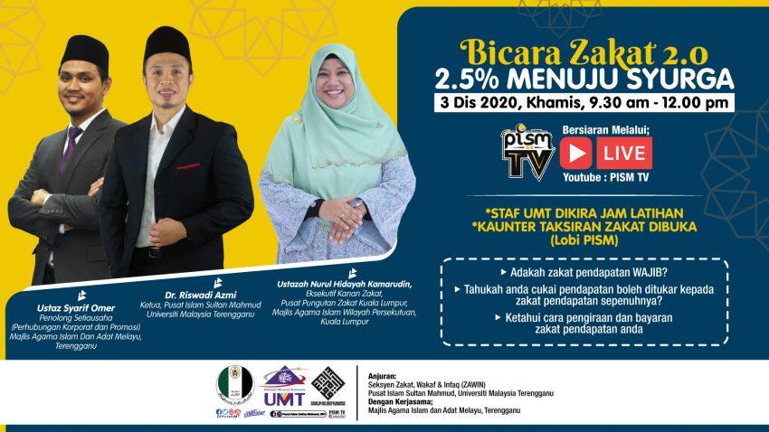 Bicara Zakat 2.0 : 2.5% Menuju Syurga @ Universiti Malaysia Terengganu