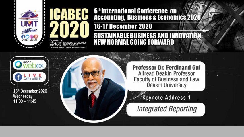 ICABEC 2020 – Integrated Reporting @ Universiti Malaysia Terengganu