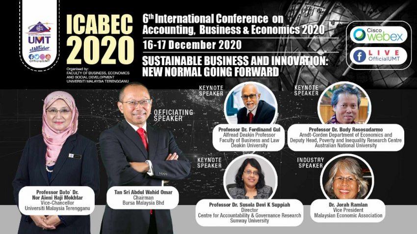 ICABEC 2020 @ Universiti Malaysia Terengganu
