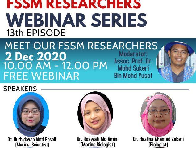 Sembang Santai Bersama Penyelidik FSSM Siri Ketiga Belas @ Universiti Malaysia Terengganu