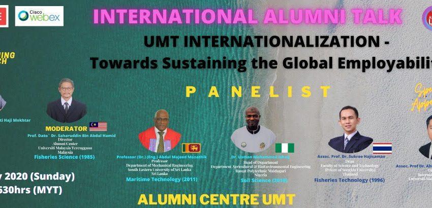 BUAL BICARA ALUMNI ANTARABANGSA UNIVERSITI MALAYSIA TERENGGANU @ Universiti Malaysia Terengganu