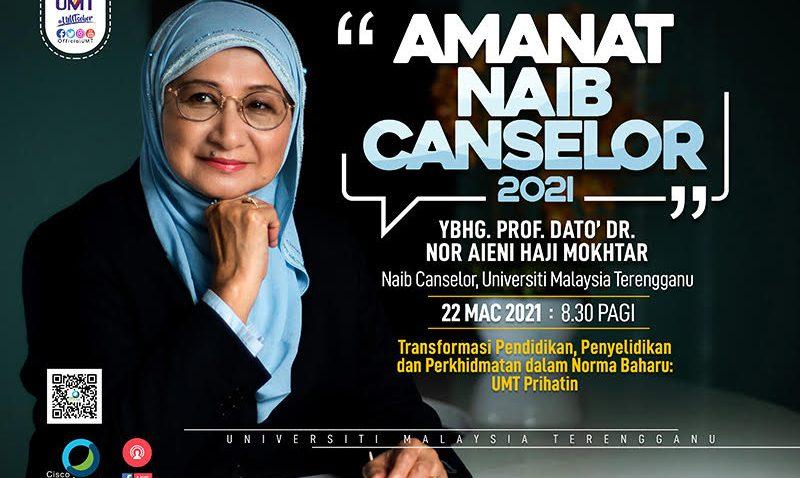 MAJLIS AMANAT NAIB CANSELOR UMT TAHUN 2021 @ Universiti Malaysia Terengganu