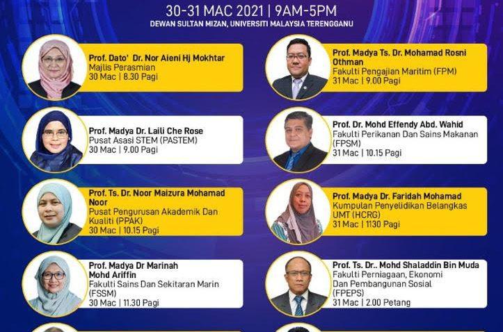 PROGRAM VIRTUAL DISCOVER UMT 2021 @ Universiti Malaysia Terengganu