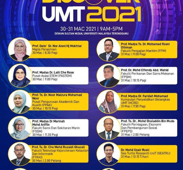 PROGRAM VIRTUAL DISCOVER UMT 2021