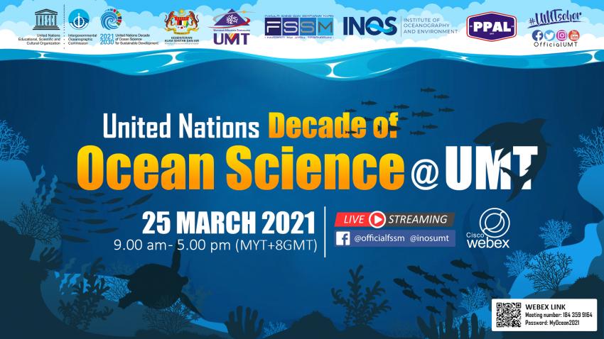 UNITED NATIONS DECADE OF OCEAN SCIENCE @ UMT @ Universiti Malaysia Terengganu